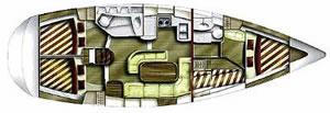 4 cabin sailboat