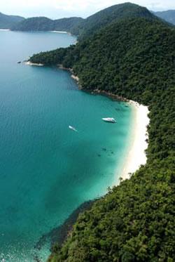 brazil - angra - gipoia island
