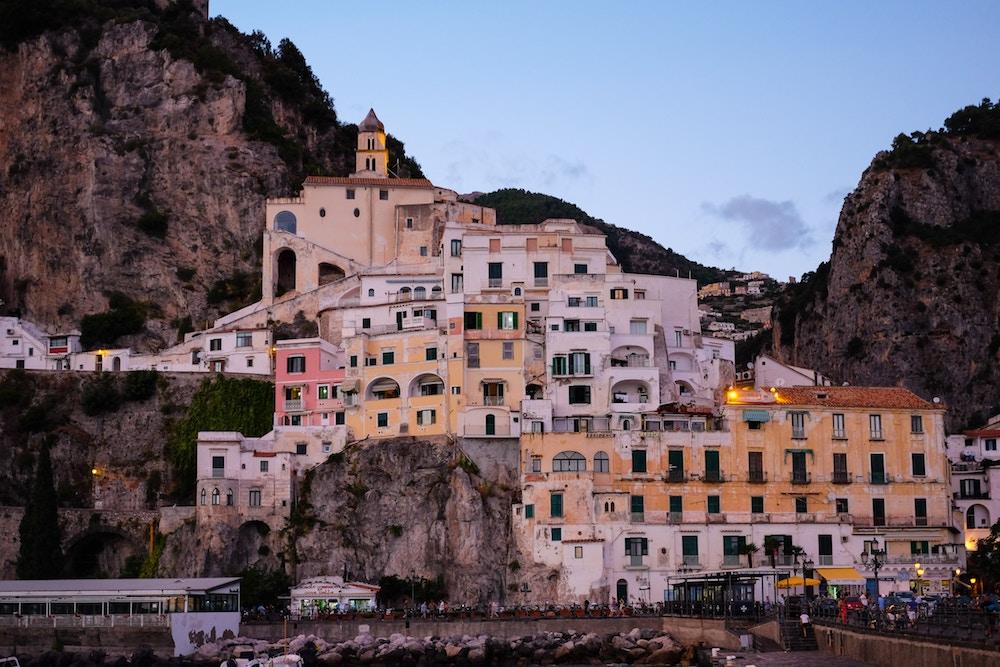 Amalfi Coast, yacht charter Italy