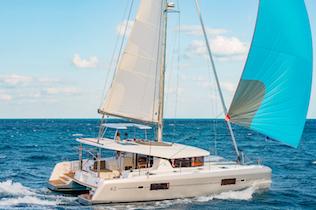 greece bareboat catamaran charter yachts