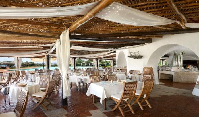 Cala Di Volpe, Sardinia, Restaurant
