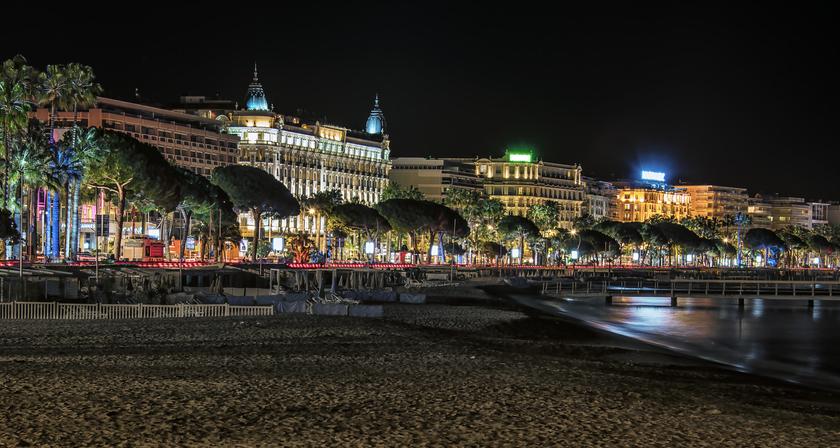 Cannes, beach, hotel, croisette