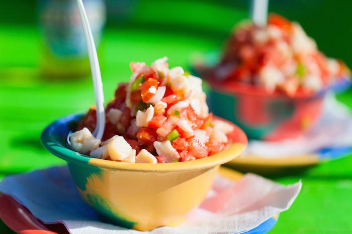 Conch salad, Bahamas