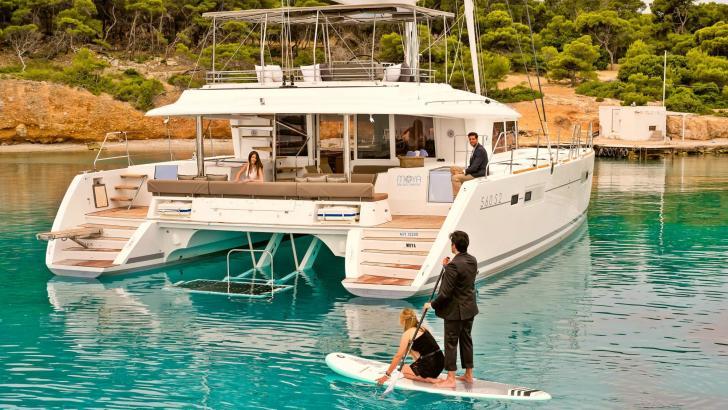 Crewed Catamaran