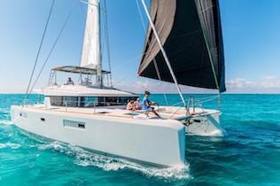 Sardinia crewed catamarans