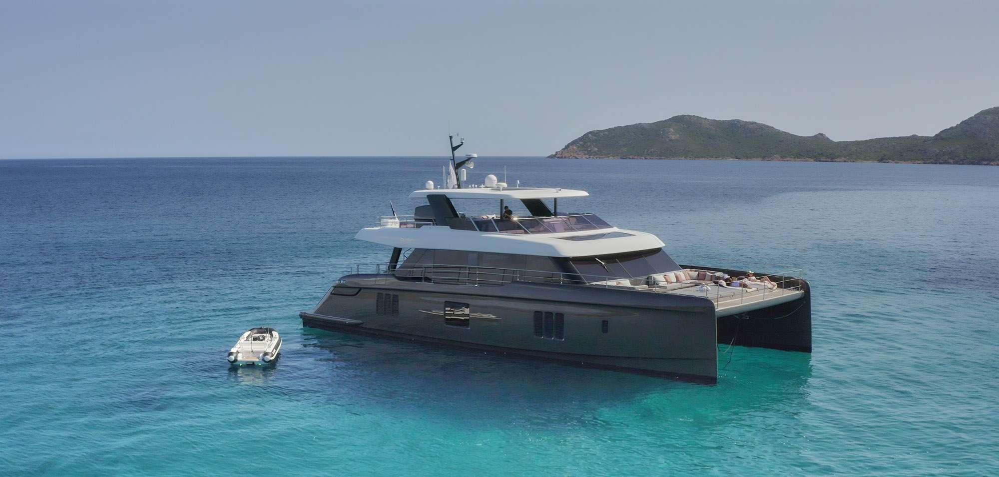 Crewed Luxury Catamaran in the Mediterranean