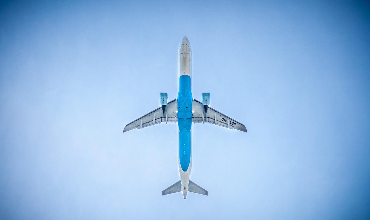 Flying to Sicily