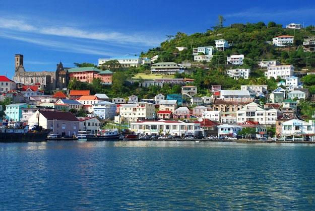 The Caribbean island of Grenada