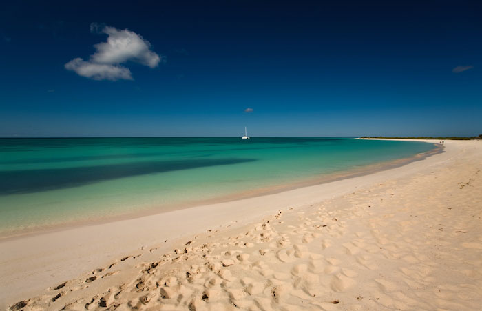 The gorgeous beaches in the Turks and Caicos Islands