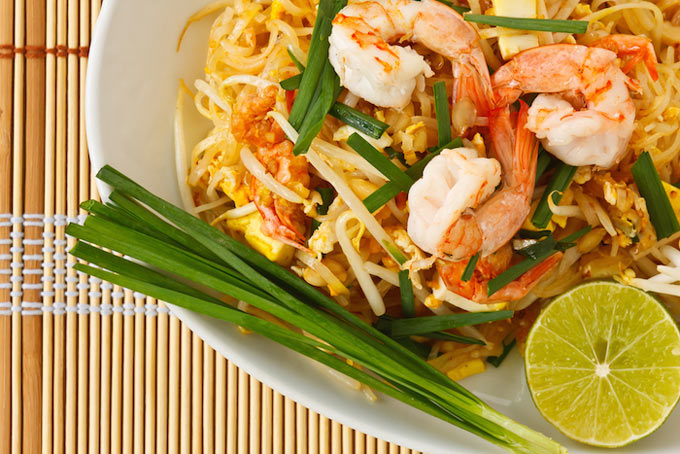 Tasty Thai Cuisine on your next yacht charter with Boatbookings