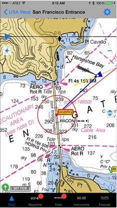 navionics iphone nautical charts