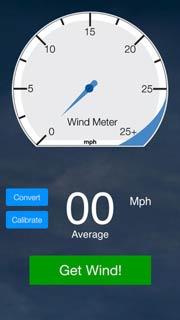 wind meter iphone app
