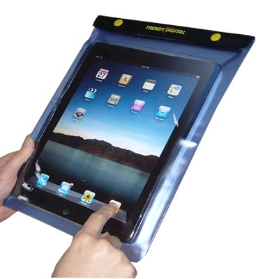 Waterproof iPad case perfect for a yacht charter