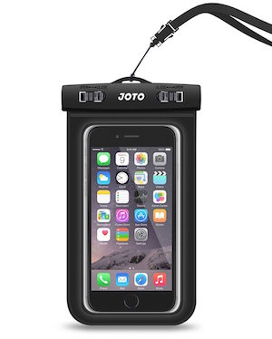 Waterproof iPhone case perfect for a yacht charter