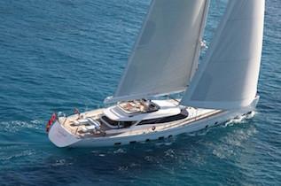 French Riviera crewed sailing charter yachts