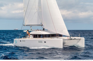 French Riviera bareboat catamaran charter yachts