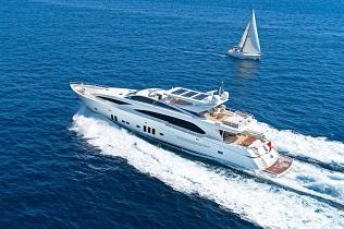 Antigua Crewed Motor Yachts
