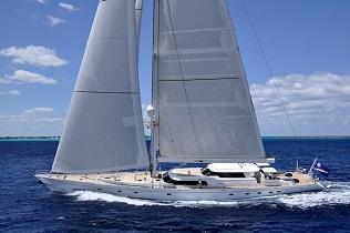 Antigua crewed sailing charter yachts