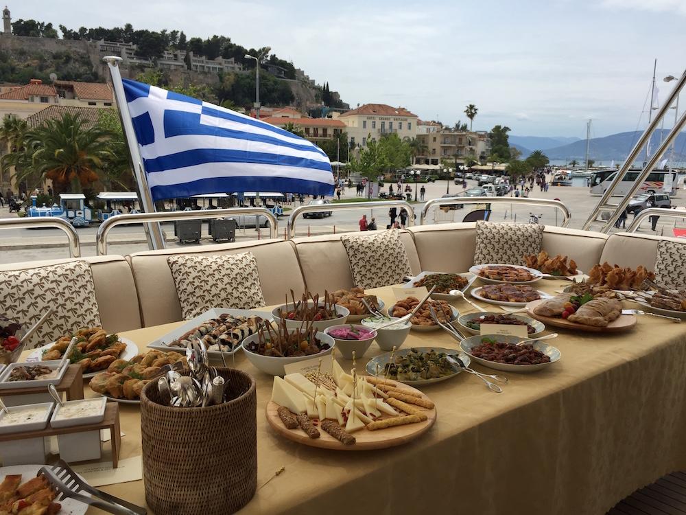 Greece Charter - Food