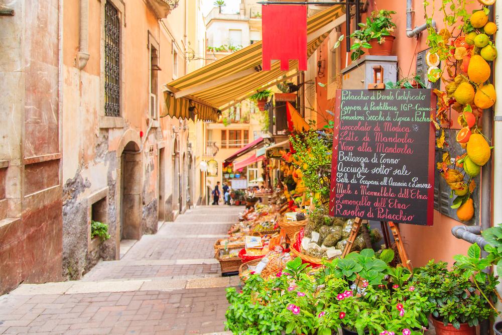 Italy, food, fresh, fruit, vegetables, eat, travel