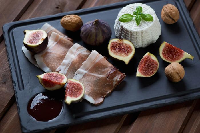 Local Brocciu Cheese and Figs in Corsica