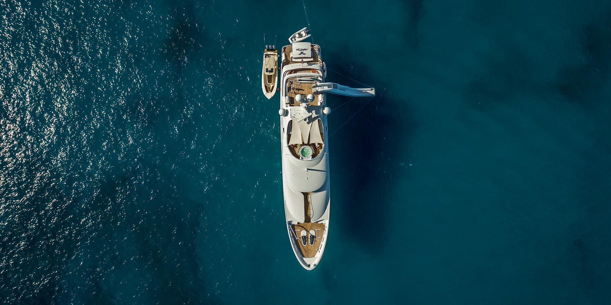 Luxury Bahamas Yacht Charter on AVALON