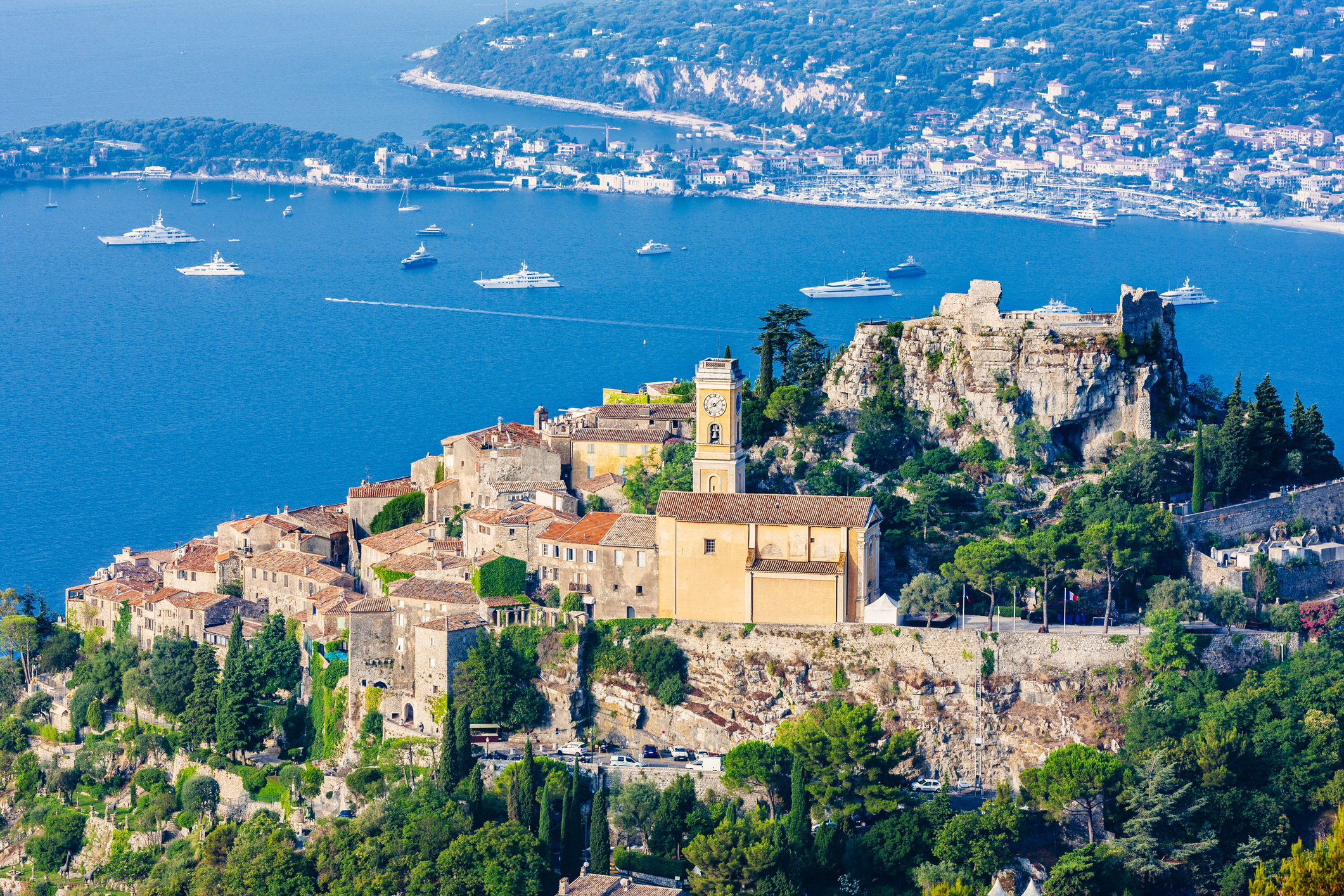 Medieval Village Eze, National Park, French Riviera