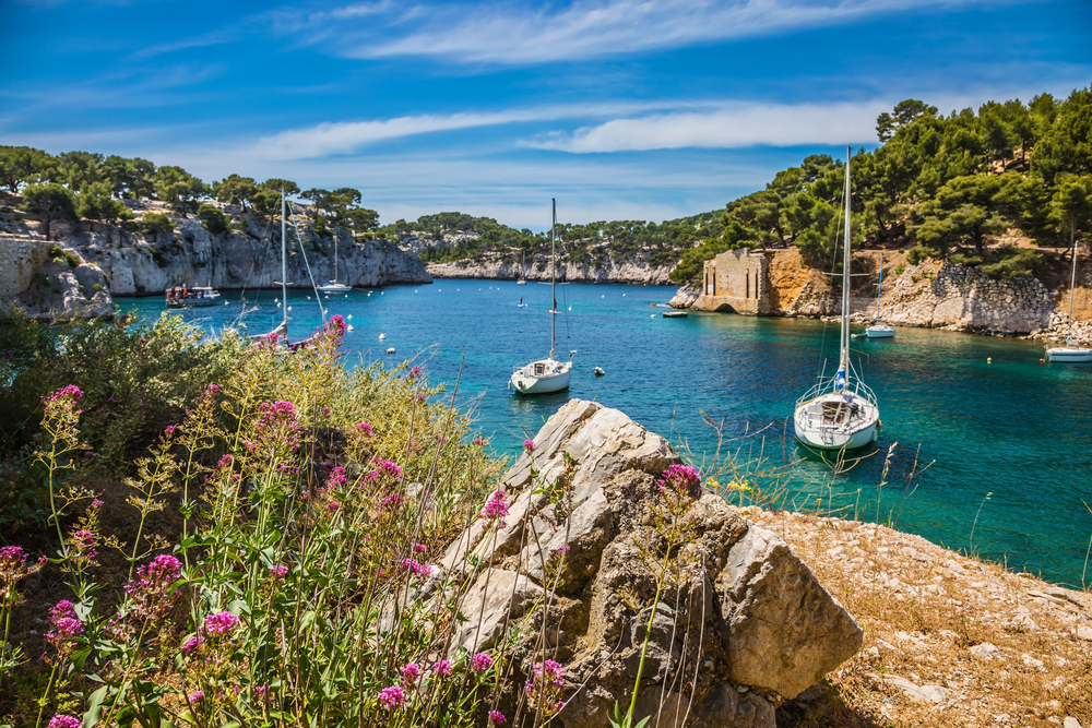 Parc National des Calanques - Luxury Sailing Yacht Itinerary
