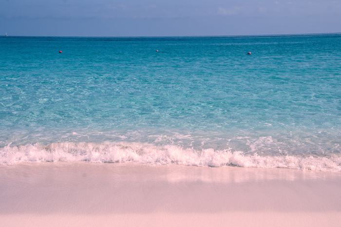 Pink Beach, Bahamas