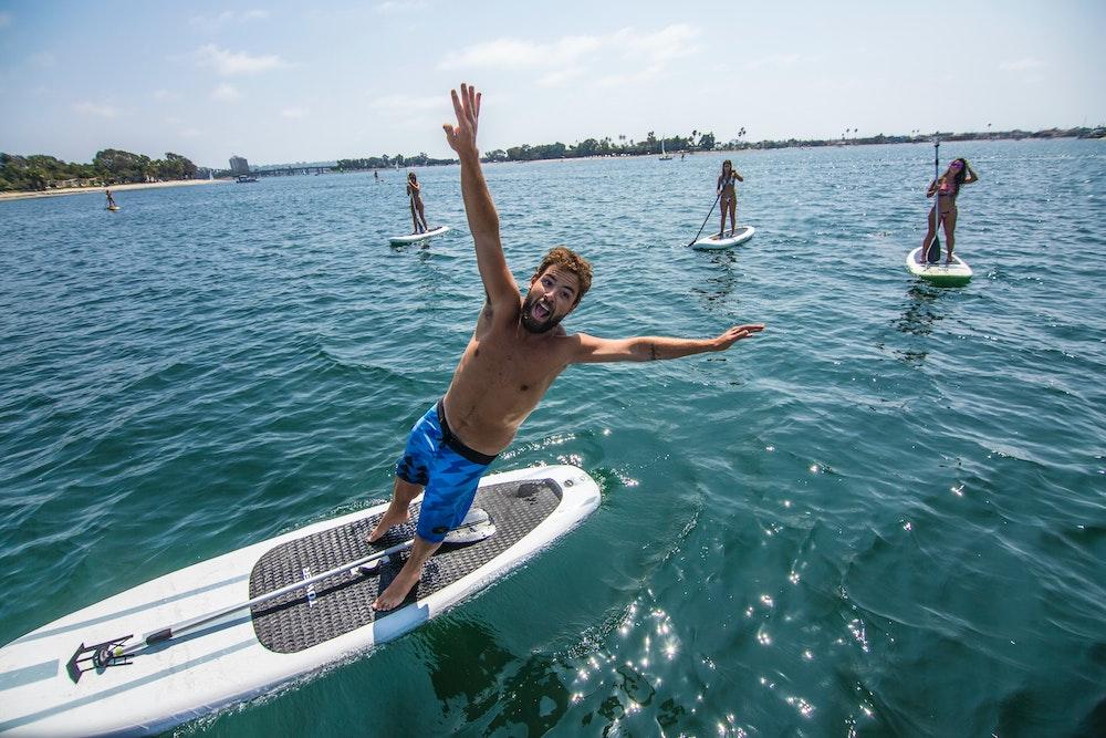 Social Distancing Paddle Board