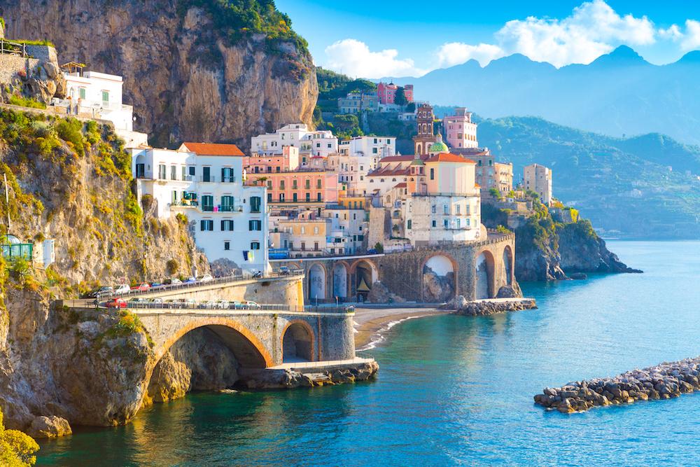 Sorrento, Amalfi Coast, luxury yacht charter