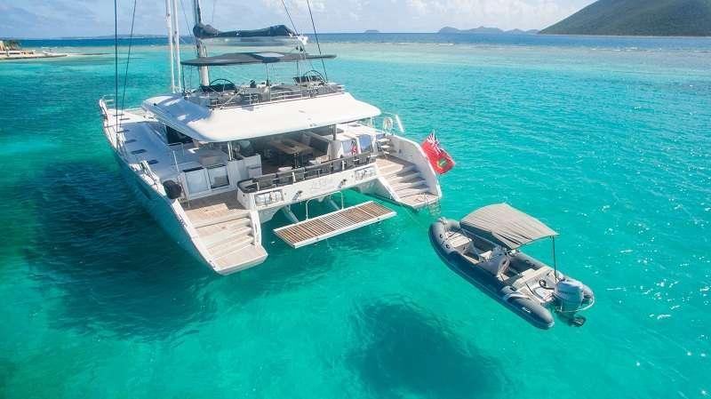 St barths Catamaran