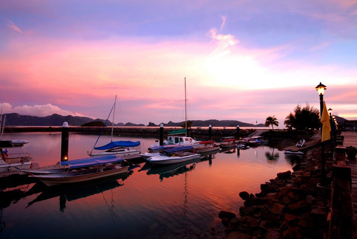 Twilight in Langkawi Malaysia