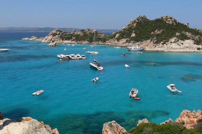 Yachts in Porto Rotondo Sardinia
