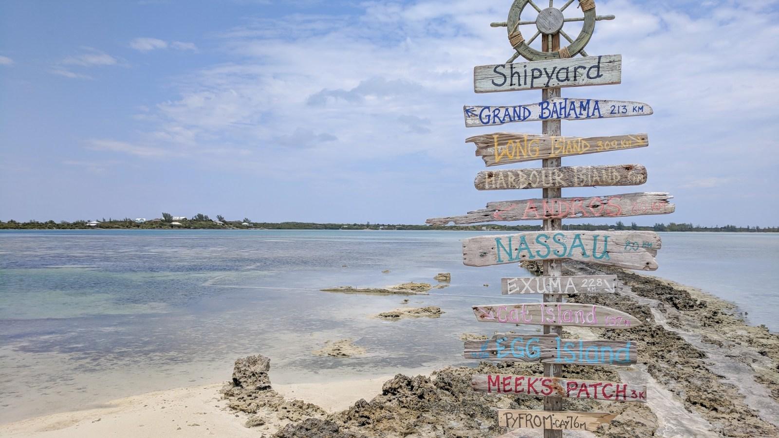 alternative sailing destinations after hurricane dorian