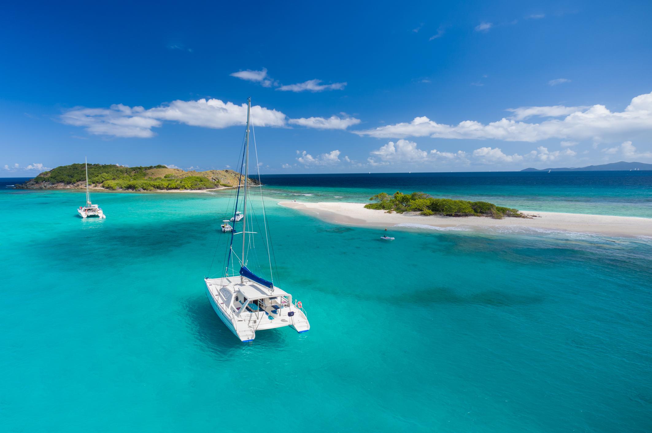 british virgin islands bareboat catamaran charter