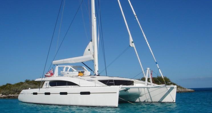 crewed catamaran mallorca