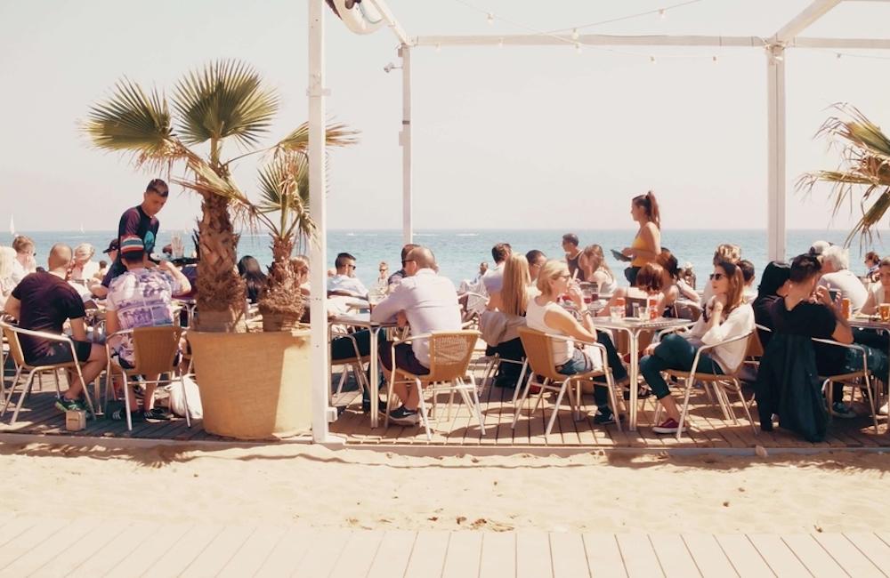 drink, beach, sea, lemon