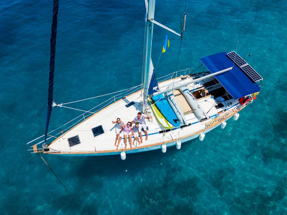 greece bareboat sail boats