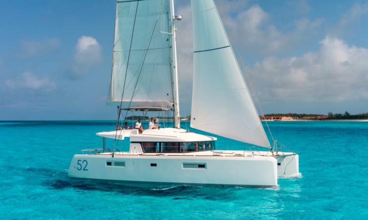 lagoon 52 barebiat charter