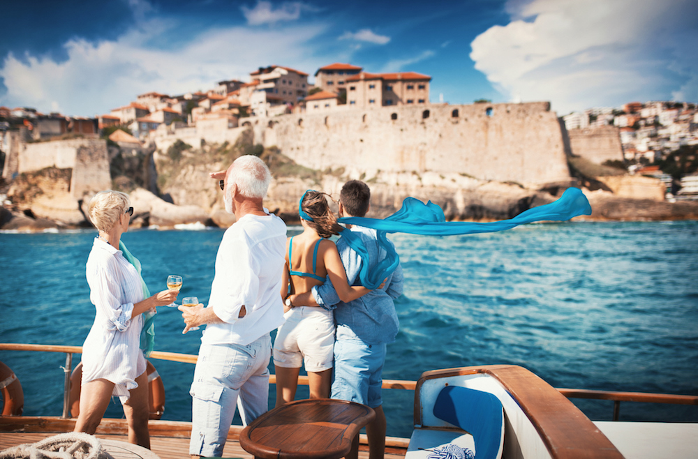 what is a crewed yacht charter like