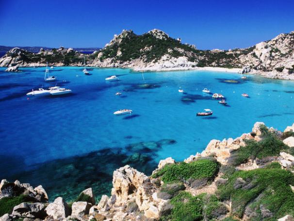 Cala Granara, Spargi, SArdinia - Luxury Yacht Charter