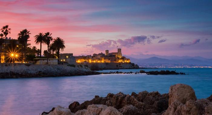 Cap d'Antibes - French Riviera Sailing Yacht Itinerary