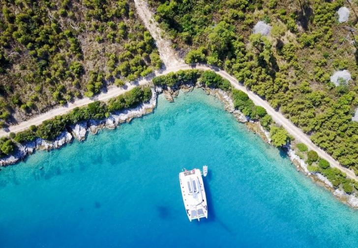Croatia catamaran