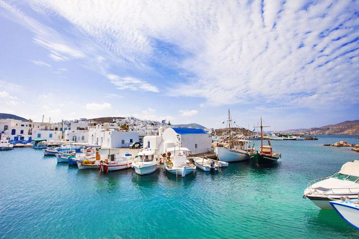 Berth your yacht in Paros harbour