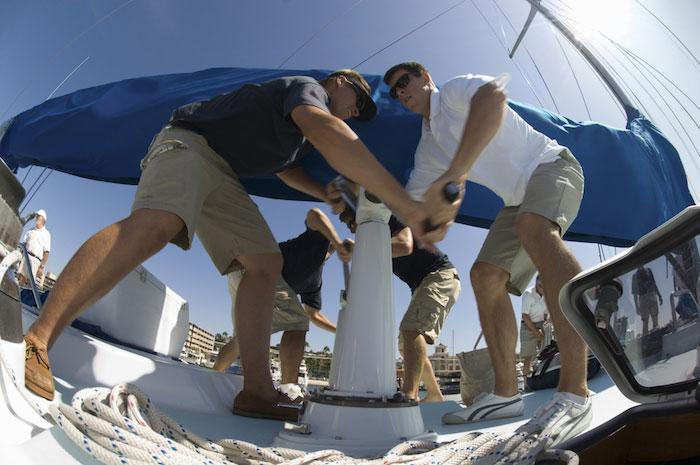 Working as a team on your sailing yacht