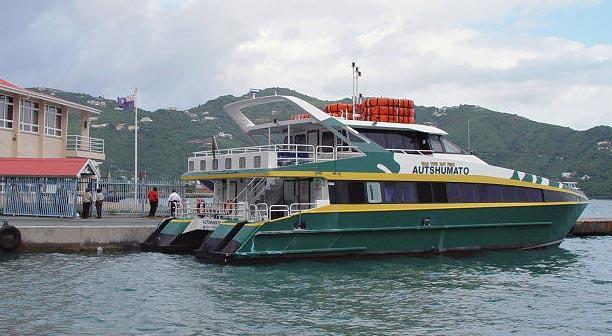 BVI Ferry from St Thomas to Tortola