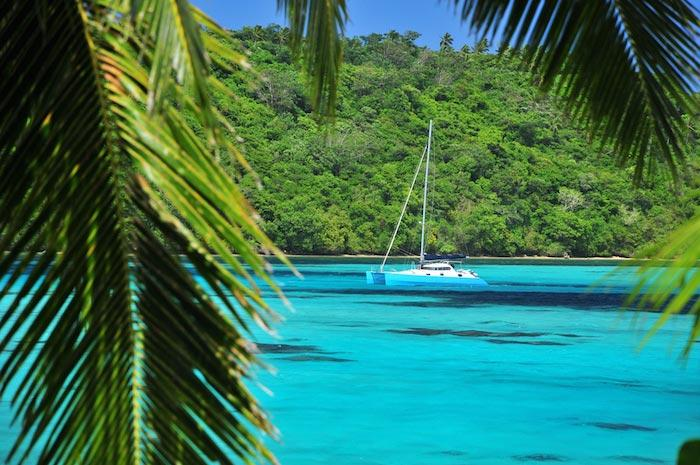 Charter a yacht in the sunny Tonga
