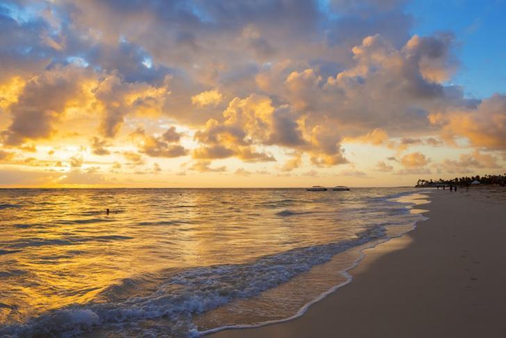 Tortola Beach Sunset