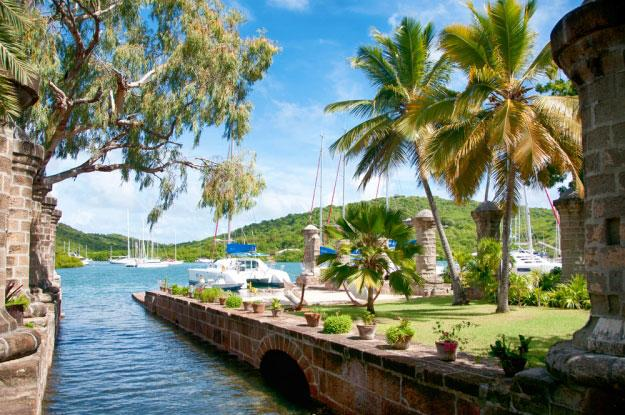 Charter a yacht to sail in the stunning waters of Antigua and Barbuda